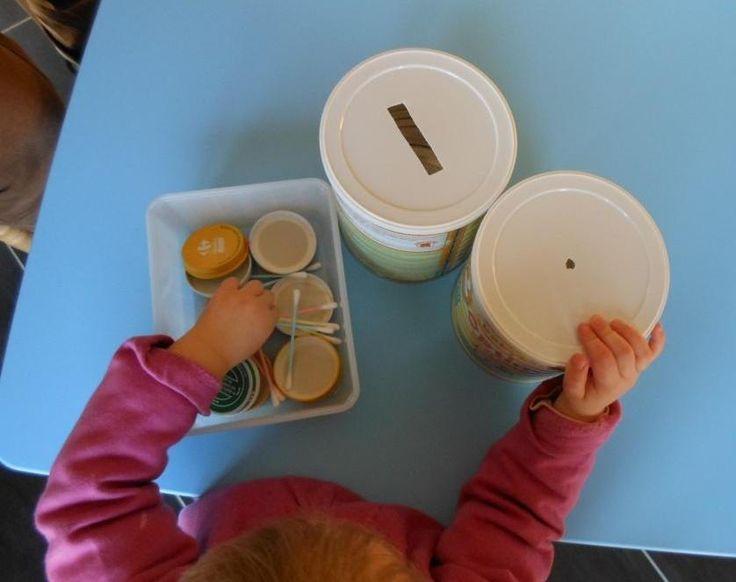 Relativ Les 25 meilleures idées de la catégorie Montessori sensoriel sur  VJ93