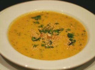 Recipe: MUAMBA NSUSU (Congo Chicken Peanut Soup) Recipe via Just a Pinch