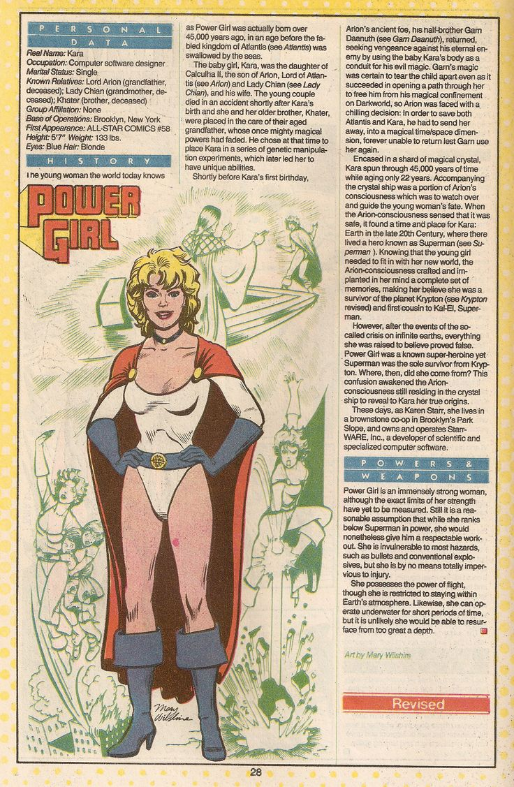 Power Girl B