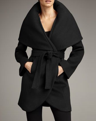Marla Wrap Coat by Elie Tahari Exclusive for Neiman Marcus at Neiman Marcus.