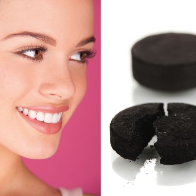7 DIY Remedies - FabFitFun - Whiten your teeth  We love our coffees, teas, and red wines, but yikes — our teeth are no longer white! What to do? Buy some activated charcoal and add a bit to your toothpaste, or make tooth powder by combining it with water, and then swish it around in your mouth and hold it in front of your teeth for several minutes. Wash it out of your mouth and be dazzled by your teeth's brightness.