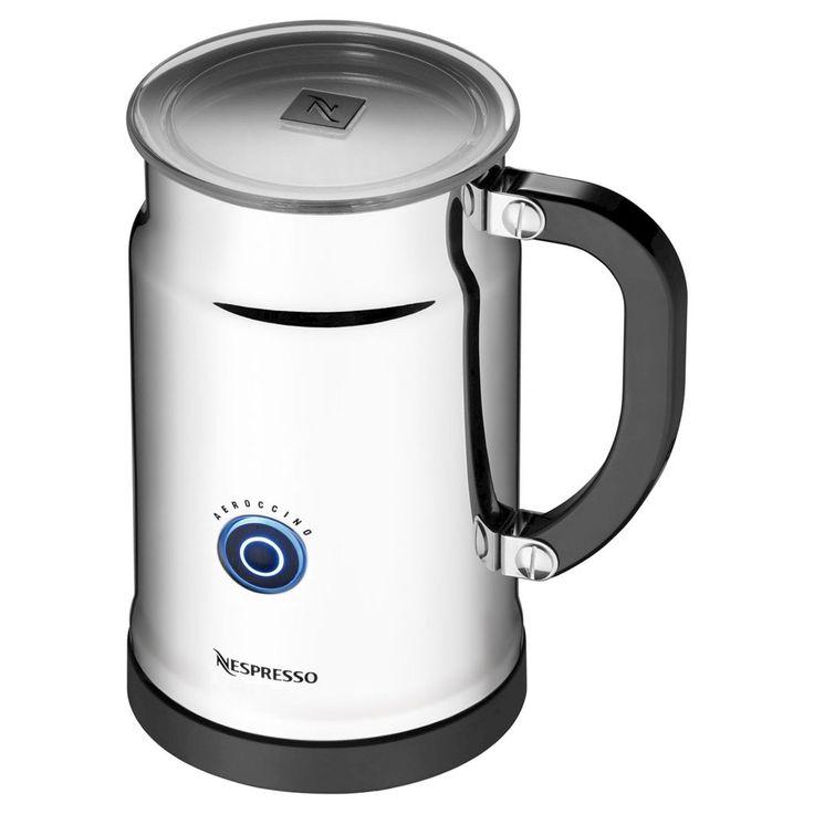 Nespresso Aeroccino Plus Milk Frother, Light Silver