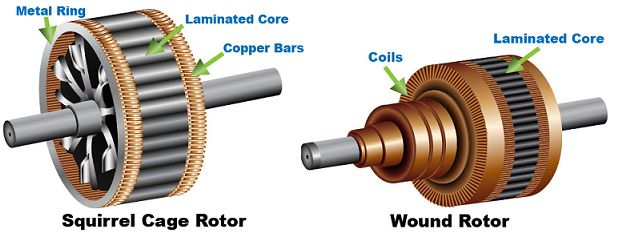 Induction Motor Rotor Elprocus Electrical Engineering