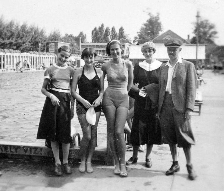városi strand- 1937