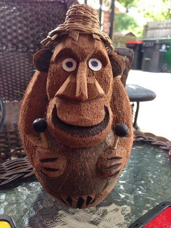 Coconut Art Work