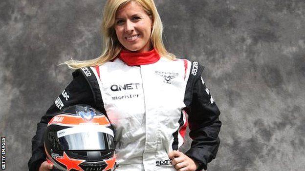 Maria De Villota - F1 reserve driver (RIP)