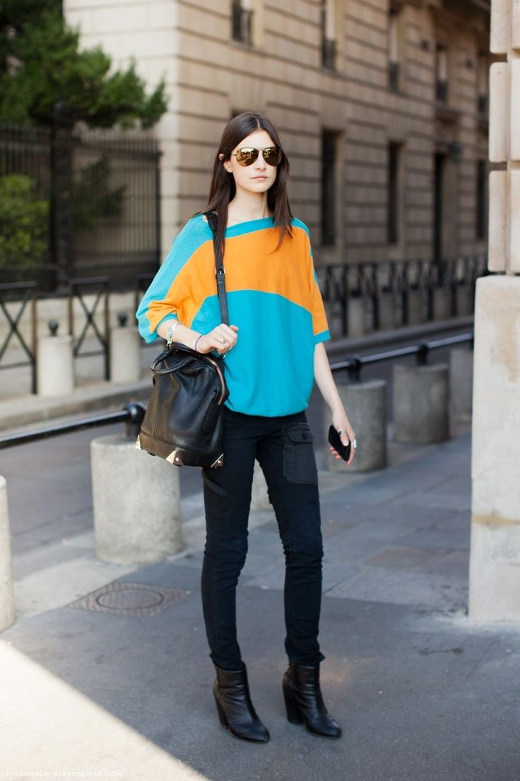Colourful Street Style Looks 11 - pictures, photos, images