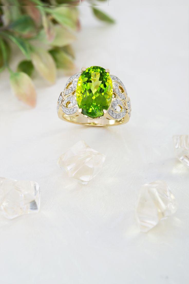 Groene ringen op juwelo.nl