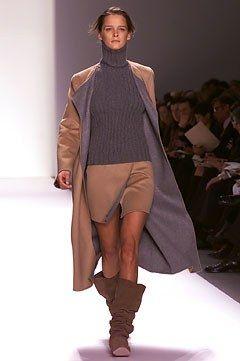 Michael Kors Collection Fall 2002 Ready-to-Wear Fashion Show - Carmen Kass, Michael Kors