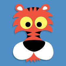Resultado de imagen para animal mask template