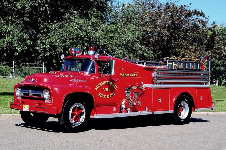 1956 Ford Tasc 500 500 Pumper Vintage Fire