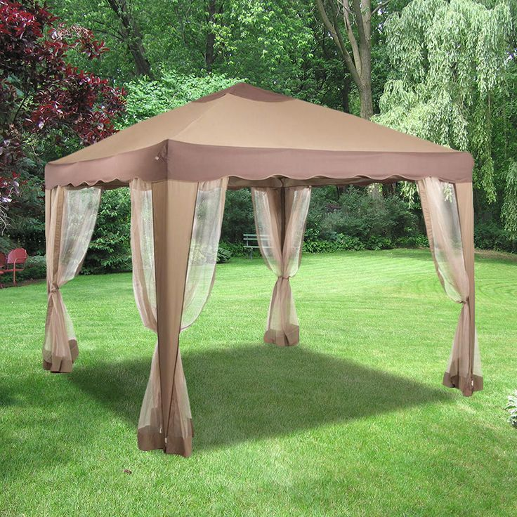 The 25 best ideas about portable gazebo on pinterest - Small gazebo with netting ...