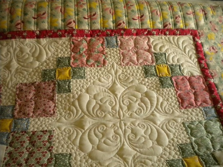 one of Vicki's beauties.: Beautiful Quilts, Quilts Inspiration, Longarm Quilts, Craftideapin With, Beautiful Hands, Stunning Quilts, Machine Quilts, Beautiful Love, Quilts Ideas