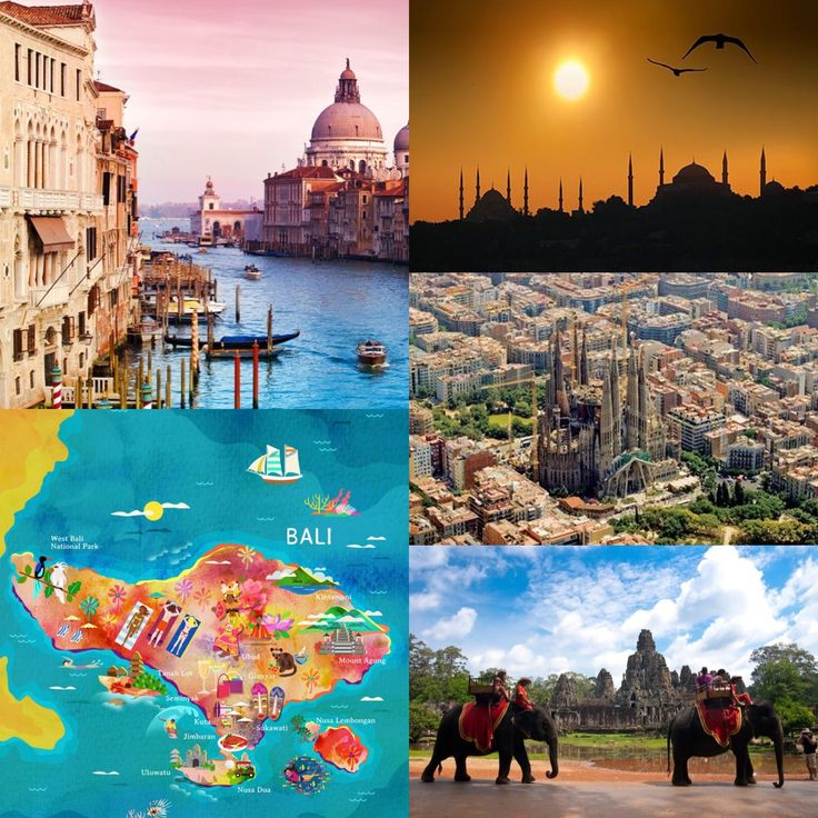 Among the top 5 budget travel destinations for this year are: Italy, Bali, Istamblul, Barcelona & Cambodia... (affordable = yay!)   Which one would you go for?