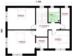 proiect casa, proiect de casa, proiecte case mici, case ieftine, case parter si etaj : Magazinuldeproiecte.ro