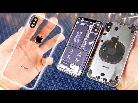 Az eddigi legmenőbb, átlátszó iPhone X [videó] - Tech Hírek