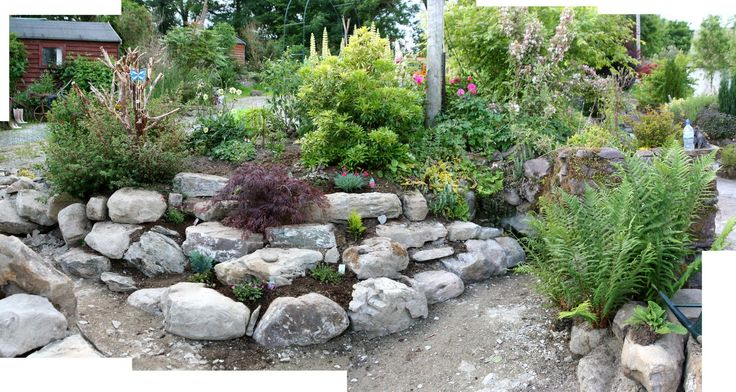Small corner rockery garden ideas pinterest gardens for Small rock garden designs