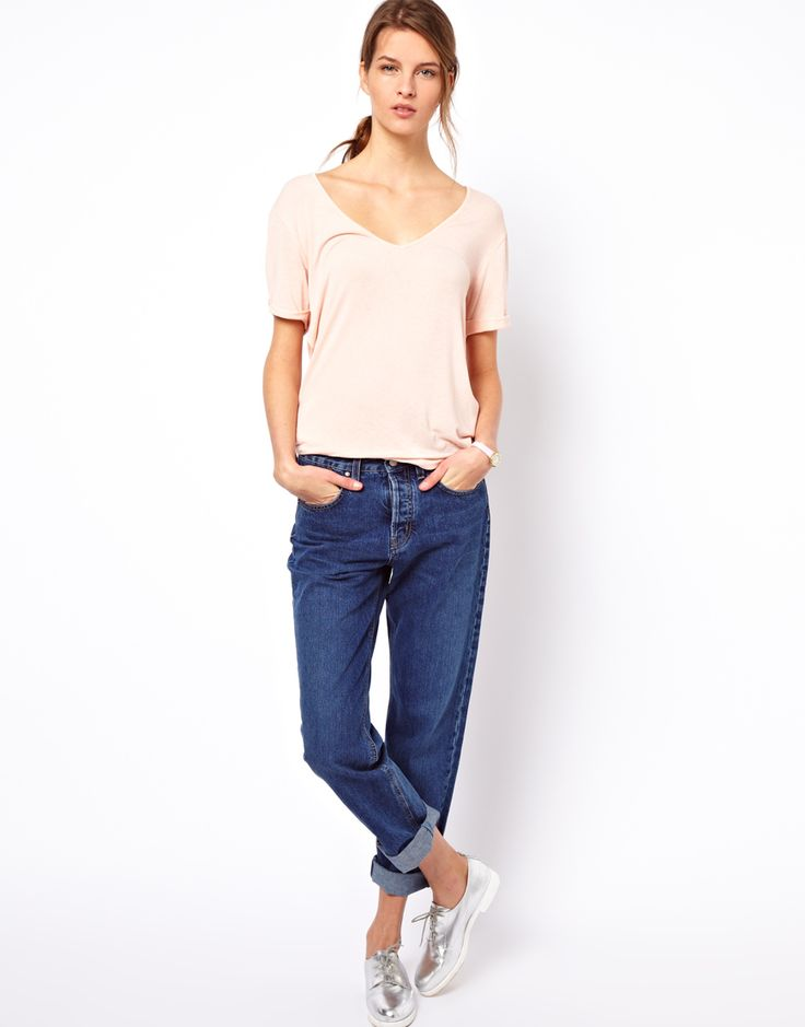 Mih Jeans Halsy Cherry 90s Fit Jeans