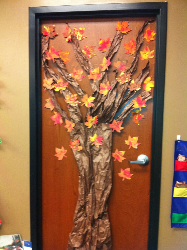 Fall Tree Classroom Door Decorations ~ Best images about classroom halloween fall