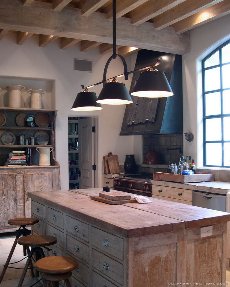 Rustic Industrial Kitchen: 476 Best Images About Rustic Kitchens On Pinterest