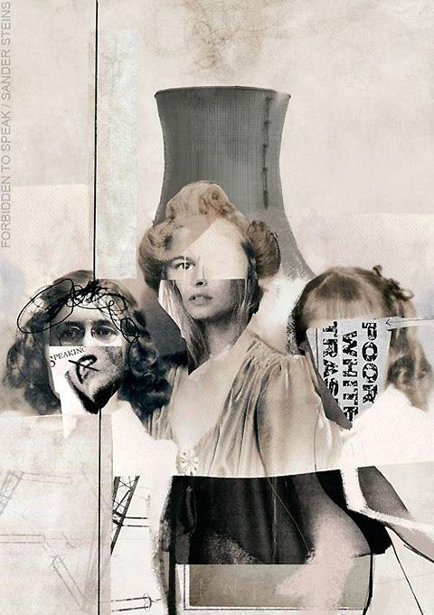 Beautiful collage art by Sander Steins — Lost At E Minor: For creative people