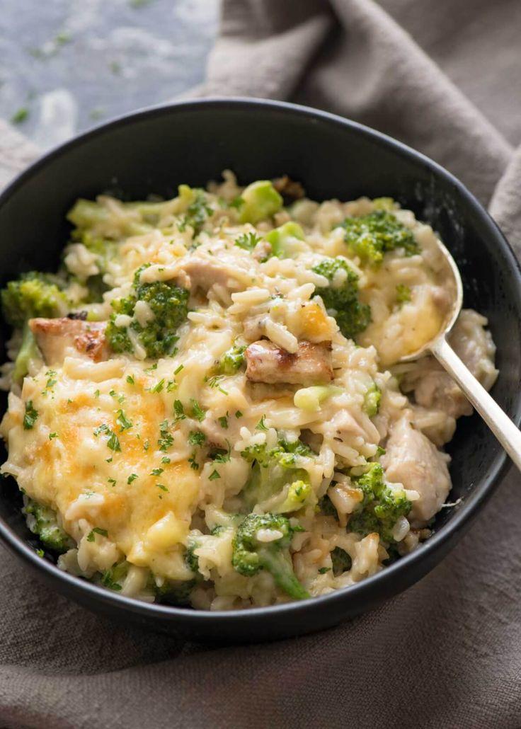 One Pot Broccoli, Chicken And Rice Casserole  Recipe -6347