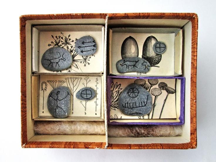 mano kellner, art box nr 353, steinzeit