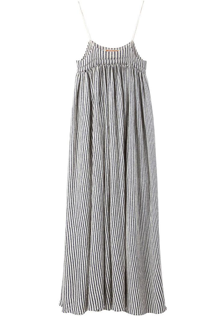 knit gathered dress ++ united bamboo
