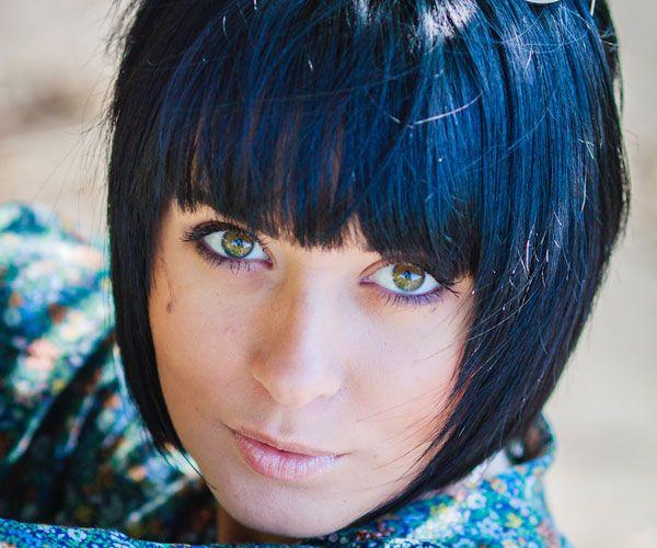 Υπέροχα μπλε μαλλιά
