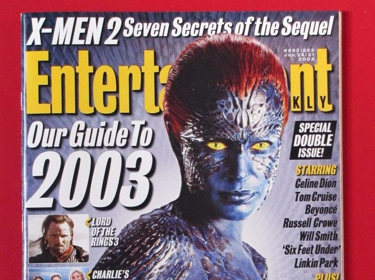 Entertainment Weekly #692/693 - Jan 2003 - X-Men 2 Rebecca Romijn - MINT
