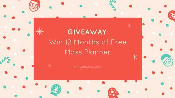 Giveaway: Win 12 Months of Free Mass Planner  We've prepared a Holiday special for you this year. Free Mass Planner licenses and a lot of knowledge to help you make more money. It's really something not to be missed, believe me! If you want to skip right into it: Check out our giveaway here! Enter today and start 2017 with a great tool …  The post  Giveaway: Win 12 Months of Free Mass Planner  appeared first on  Mass Planner .  http://www.massplanner.com/win-12-months-of-free-mass..