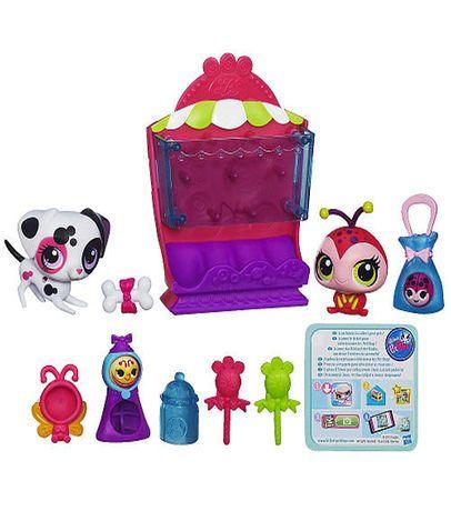 Littlest Pet Shop Sweet Drop Shop Set