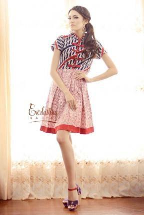 Keiza asia dress. Batik.