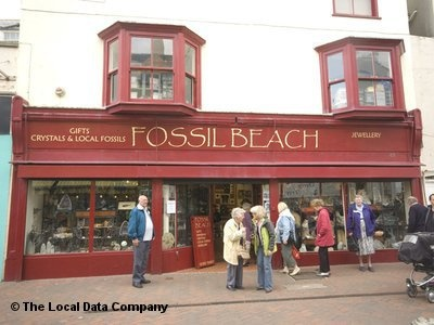 Front view Fossil Beach, Weymouth, Dorset.....Quite possibly my favourite shop ever :)