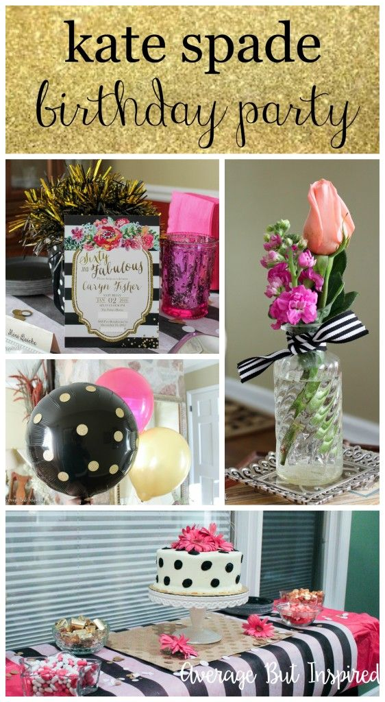 So cute! This Kate Spade inspired birthday party post is full of cute decor ideas and inspiration for any adorably fabulous party you may be planning!  Click through for lots of pictures and inspiration!