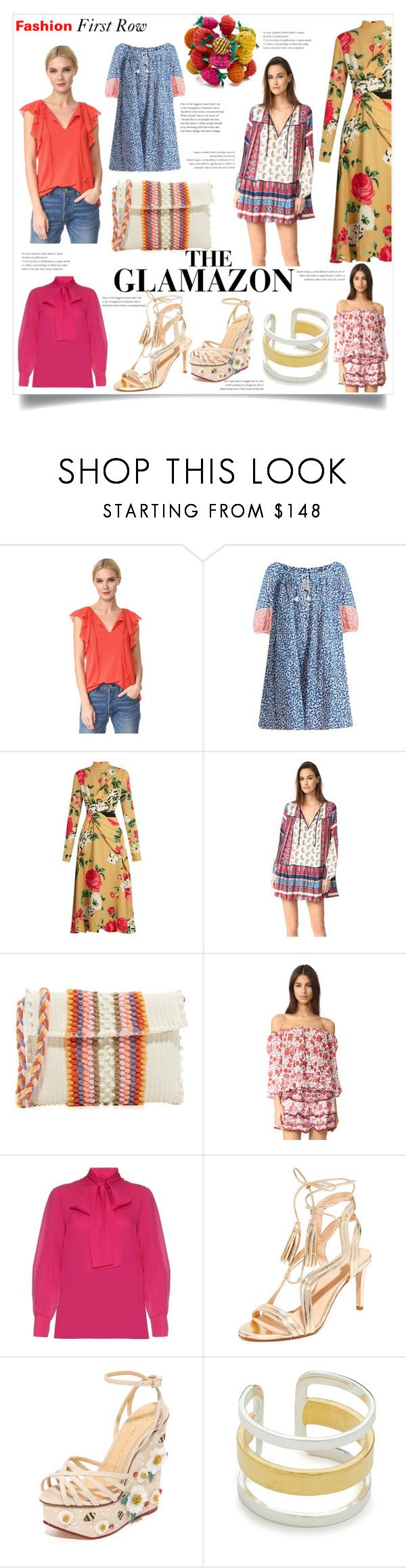 """Spring Fashion Fever!!!"" by bonnielindsay ❤ liked on Polyvore featuring FUZZI, Thierry Colson, MSGM, Suboo, Antonello, Poupette St Barth, Gucci, Club Monaco, Charlotte Olympia and Maya Magal"