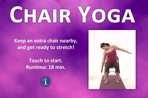 Itouch app: Chairyoga