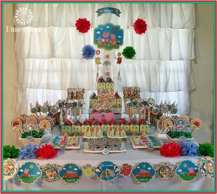 Colorful Birthday Party Decorations