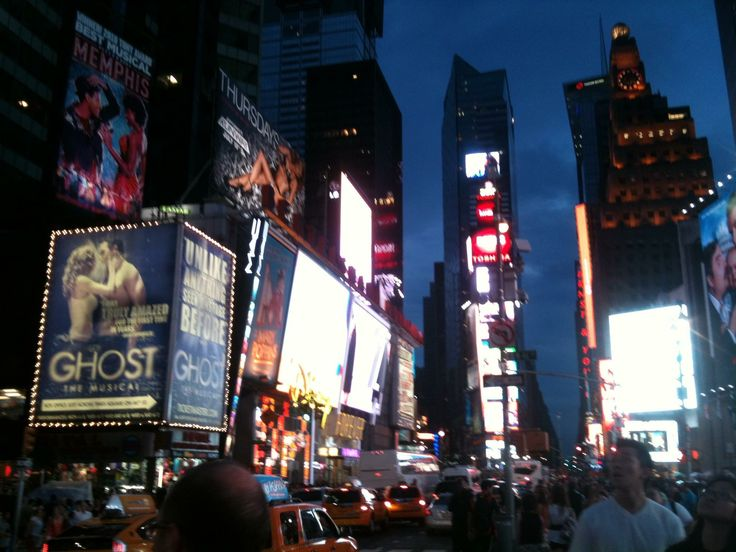 Time square. New York City. USA. 2012.