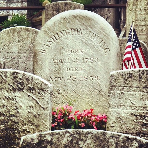 Sleepy Hollow Cemetery: Washington Irving Final Resting Place