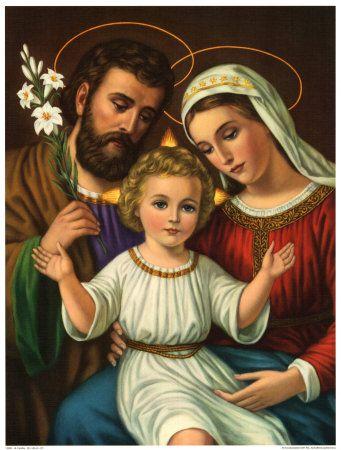 Joseph, Jesus, Mary
