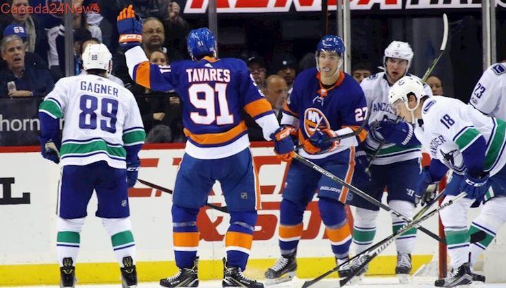John Tavares, Isles send Canucks to 3rd straight loss