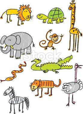Stick Figure Zoo