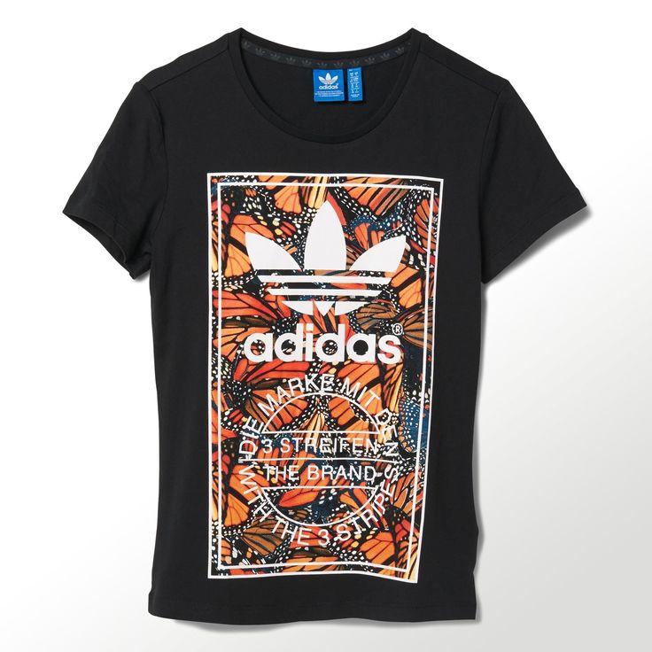 adidas - Butterfly Print Tee