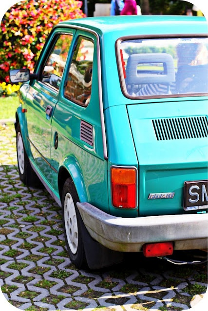 Fiat 126 LOVE... Just like my first car..  'Bambino'.. It used to back fire after hill starts ... Passenger window would come down as I drove along .. Ha ha!! Funny memories!