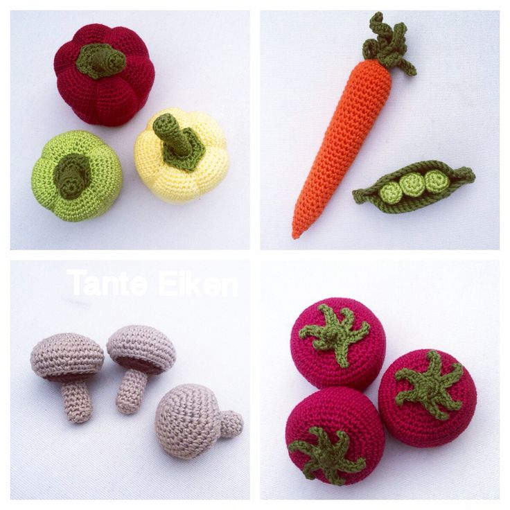 Amigurumi Vegetables : Best images about crochet my works on pinterest