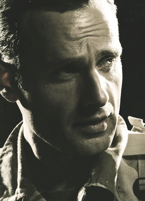 Andrew Lincoln, remember Love Actually...                                                                                                                                                                                 More