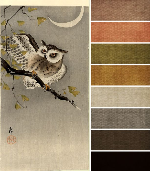 an accented neutral color palette