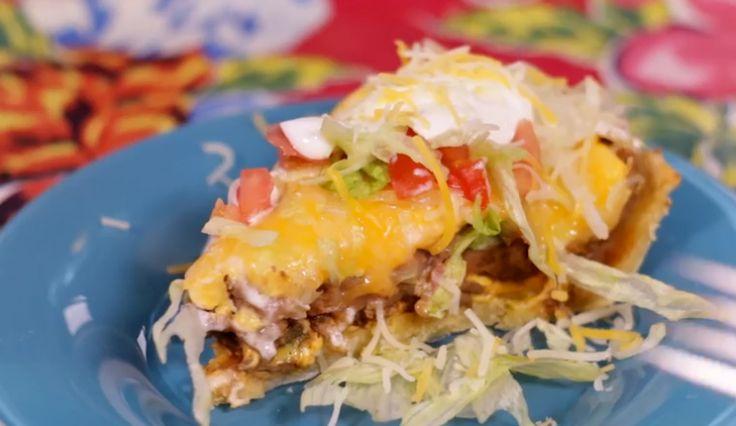 Dit wil je vanavond eten: Taco Taart!