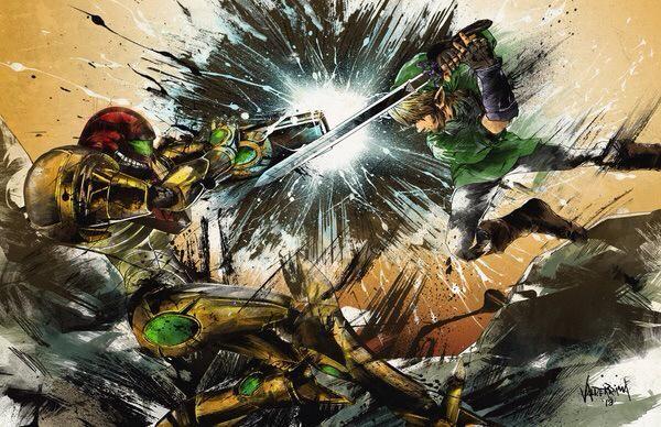Samus vs Link